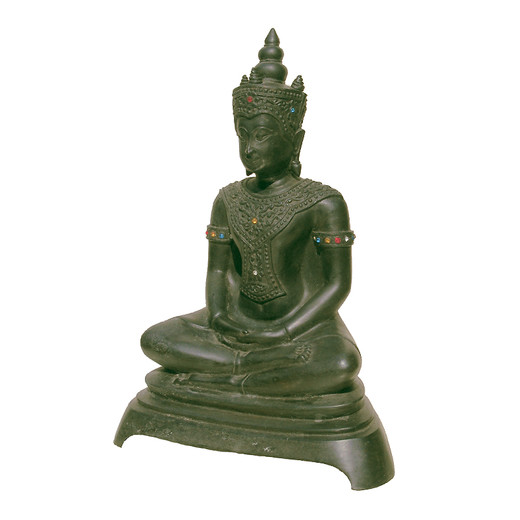 besonderer gl cksbringer buddha statue figur symbol f r haus garten messing ebay. Black Bedroom Furniture Sets. Home Design Ideas